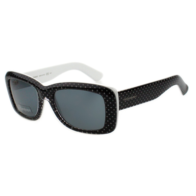 YSL-時尚太陽眼鏡 (黑色)