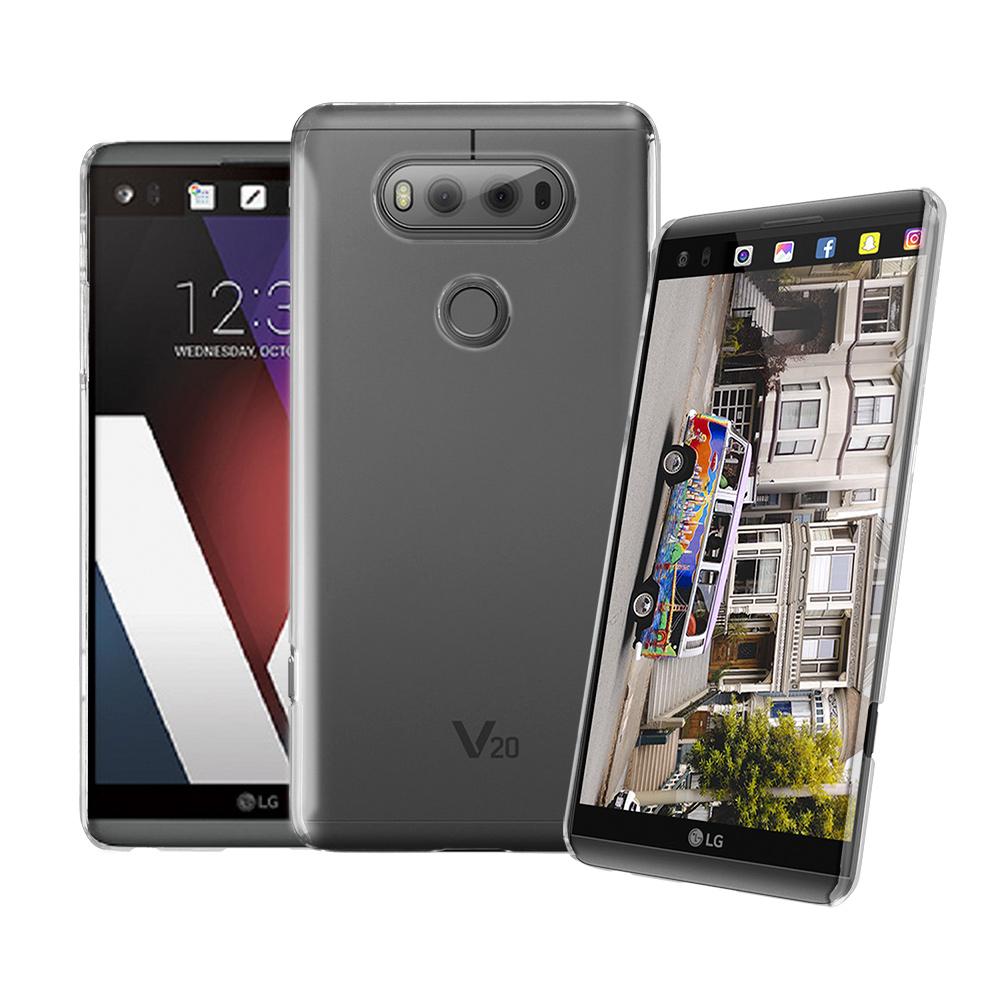 LUCCIDA LG V20 全透明加強抗刮保護殼