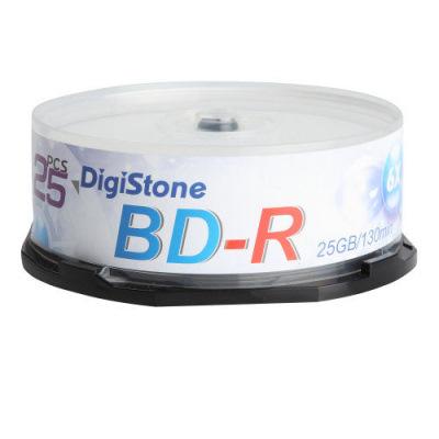 DigiStone 國際版 A+ 藍光  6 X  BD-R  25 GB 桶裝 ( 50 片)