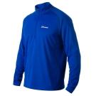 【Berghaus 貝豪斯】男款銀離子圓領衫S15M03-藍