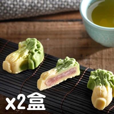老耿 手工翡翠白菜9入禮盒(蛋奶素)(2盒)
