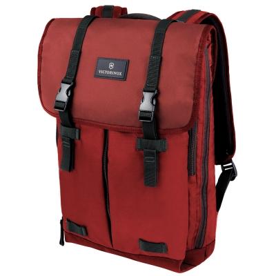 VICTORINOX瑞士維氏 Flapover 15吋電腦後背包-紅