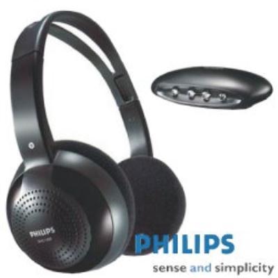 PHILIPS 紅外線無線耳機組 SHC1300(新版包裝)