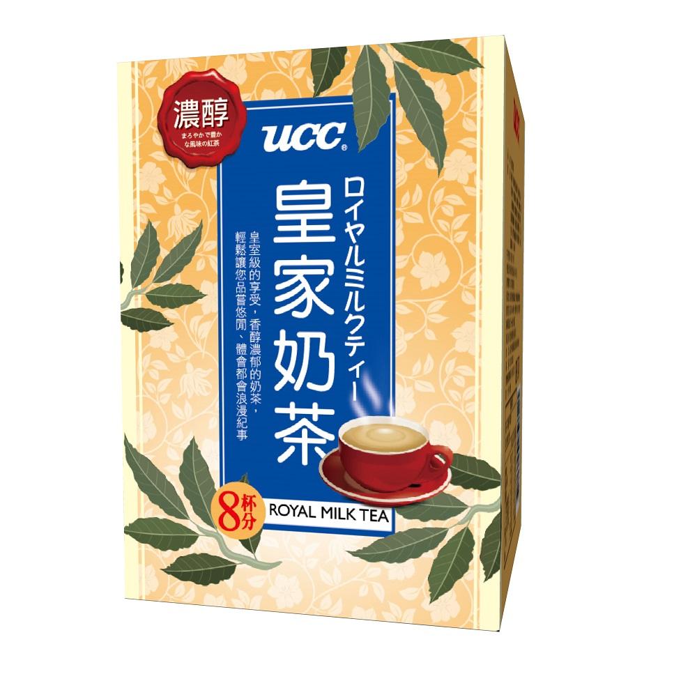 UCC 皇家奶茶(18gx8入)