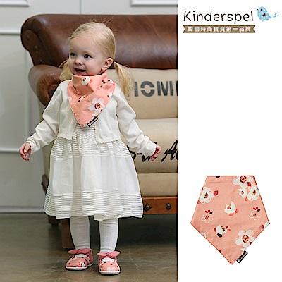 Kinderspel 繽紛時尚‧有機棉圍兜領巾 (夢幻愛麗絲)