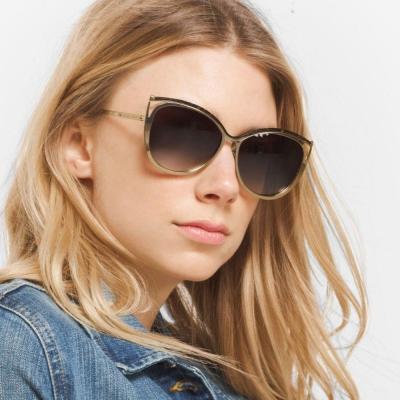 MICHAEL KORS太陽眼鏡 歐美貓眼款/銅-漸層棕#MK1020 116313