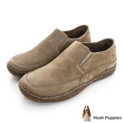 Hush Puppies FERNANDO 直套式便鞋-褐色