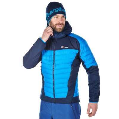 【Berghaus 貝豪斯】男款PRISM  刷毛保暖IA外套H22M34-藍