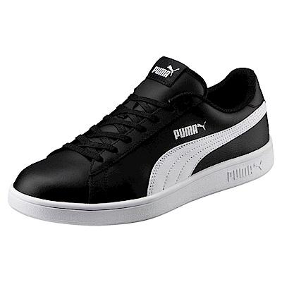 PUMA-PumaSmashv2L男女網球鞋-黑