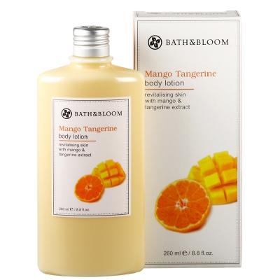 *Bath & Bloom 芒果柑橘香氛美體乳260ml