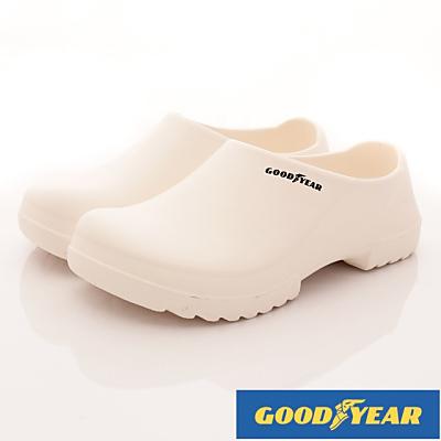 GOODYEAR-超輕量防水便鞋-SE3839白(男段)