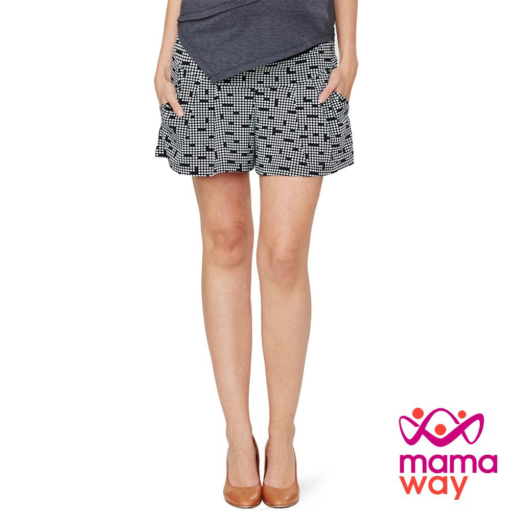 Mamaway 孕期個性寬鬆褲裙.孕婦褲(共三色)