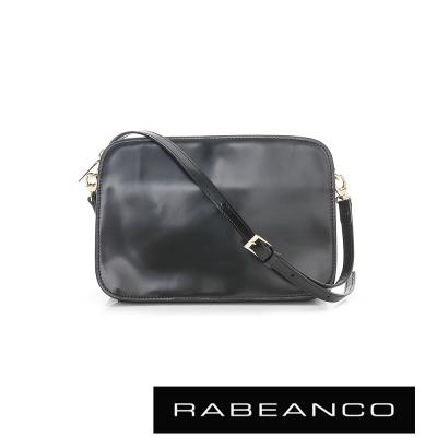 RABEANCO LUXURY極致奢華系列顆粒內裡設計肩背包 - 黑