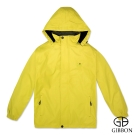 GIBBON 外套防風抗水刷毛休旅款‧黃色