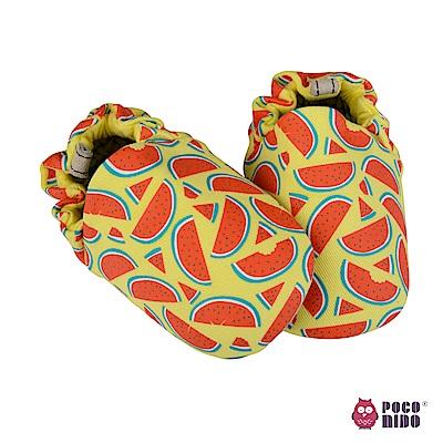 英國 POCONIDO 純手工柔軟嬰兒鞋 (清涼西瓜)
