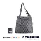 TUCANO X MENDINI 設計師系列超輕量折疊收納輕鬆購物袋-黑