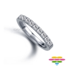 彩糖鑽工坊 Elegance系列 鑽石戒指/線戒
