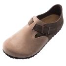 Joy Walker 簡約扣帶休閒包鞋*駝色