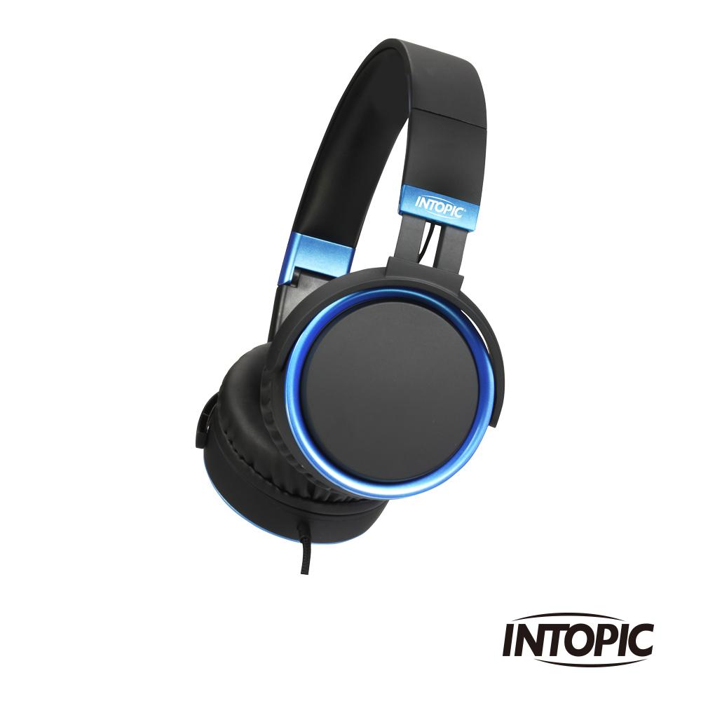 INTOPIC 廣鼎 音樂摺疊耳機麥克風(JAZZ-M397)