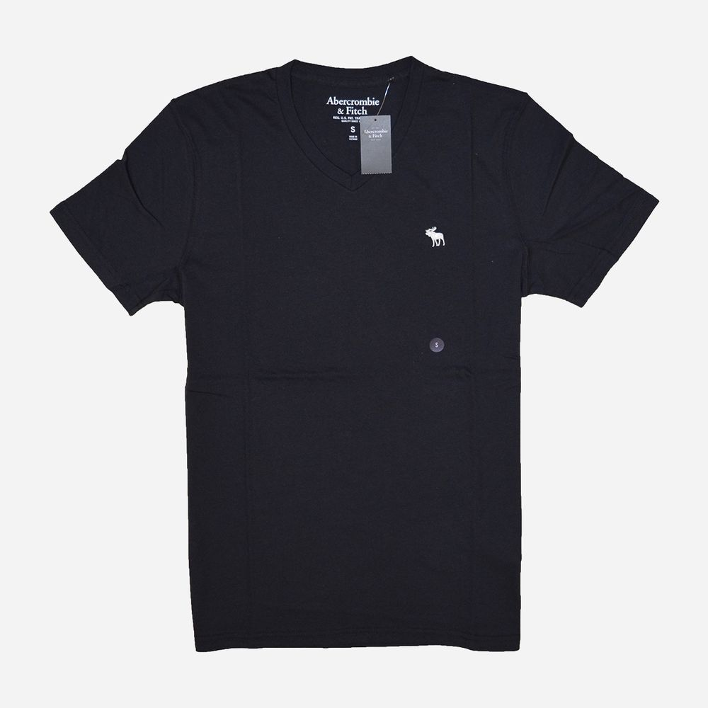 AF a&f Abercrombie & Fitch 短袖 T恤 黑 0651