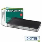 曜兆DIGITUS HDMI ~DS-48300四入二出切換器(付遙控器)