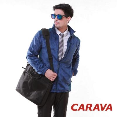 CARAVA《男款刷毛外套》(寶藍)
