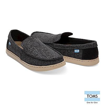 TOMS 混紡織紋拼接休閒鞋-男款