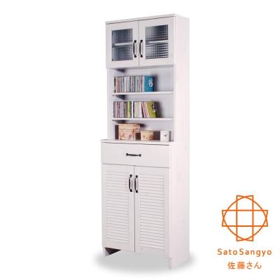 Sato~DOLLY朵莉單抽四門SMART置物櫃 W60~D30~H180cm