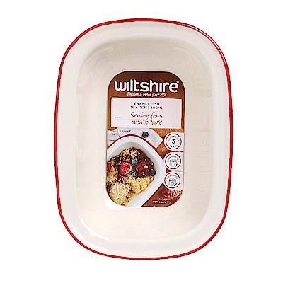 澳洲 WILTSHIRE 手工方形烤盤400ML-紅