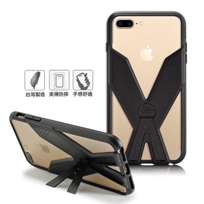 Thunder X 雷霆X iPhone7 plus/6s Plus耐衝擊全包覆防摔殼-黑