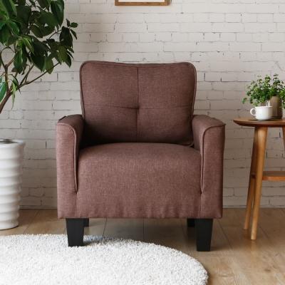 H&D 妮可簡約舒適單人沙發-3色可選