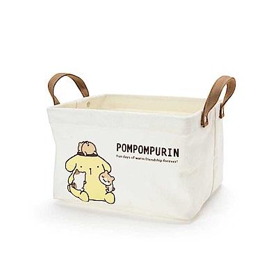Sanrio 布丁狗永遠在一起系列帆布收納提箱S