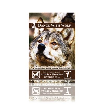 澳洲DanceWithWolf 荒野饗宴之與狼共舞《草原羊肉莓果》犬糧 2.5磅