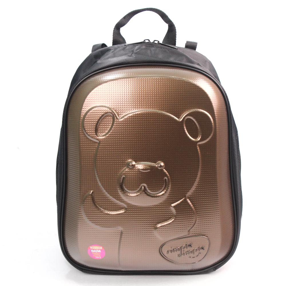 Simple dimple 嬰兒用品背袋-咖啡熊