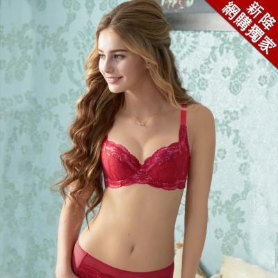 曼黛瑪璉-經典內衣 B-E罩杯(玫瑰紅)