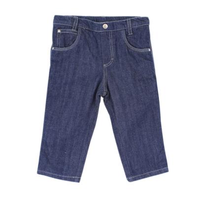愛的世界 pappa&ciccia 純棉半鬆緊帶牛仔長褲/2~4歲