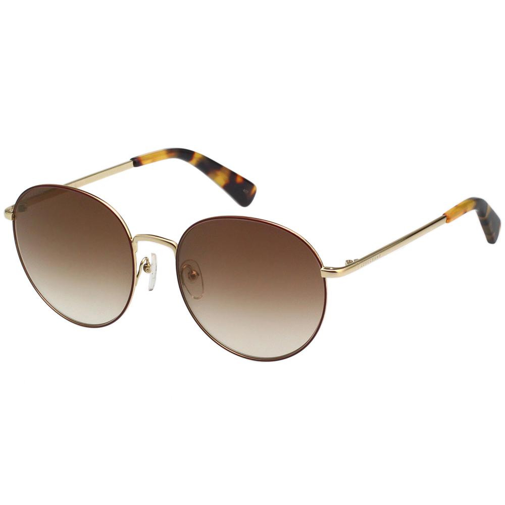 LONGCHAMP 太陽眼鏡 (金+咖啡色) LO101S