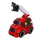 Amuzinc酷比樂 兒童玩具 磨輪動力車 聲光慣性消防雲梯車 5533-2