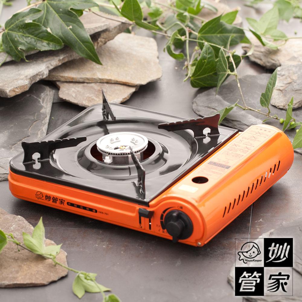 《妙管家》桌上型橘彩休閒爐#03027