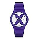 Swatch The X-Vibe XX-RATED PURPLE 紫色X手錶