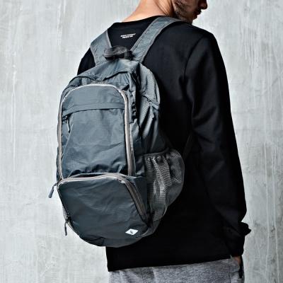 格紋後背包-兩色-CACO