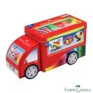 Faber-Castell 紅色系 33色卡車連接彩色筆