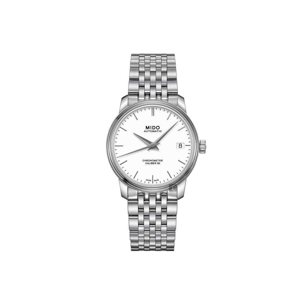 MIDO美度 永恆系列80小時天文台認證矽游絲機械女錶