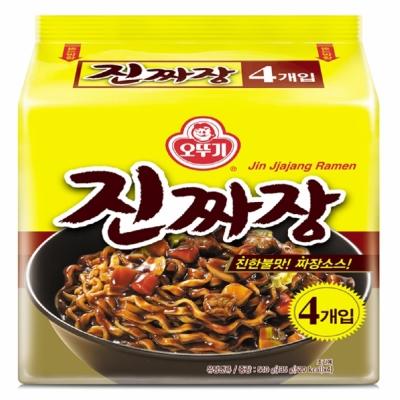 韓國不倒翁OTTOGI 真炸醬麵(135gx4包)