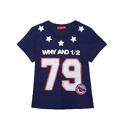WHY AND 1/2 棉質萊卡T恤 5Y~10Y