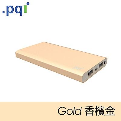 PQI Power 12000CV 超輕薄行動電源 香檳金