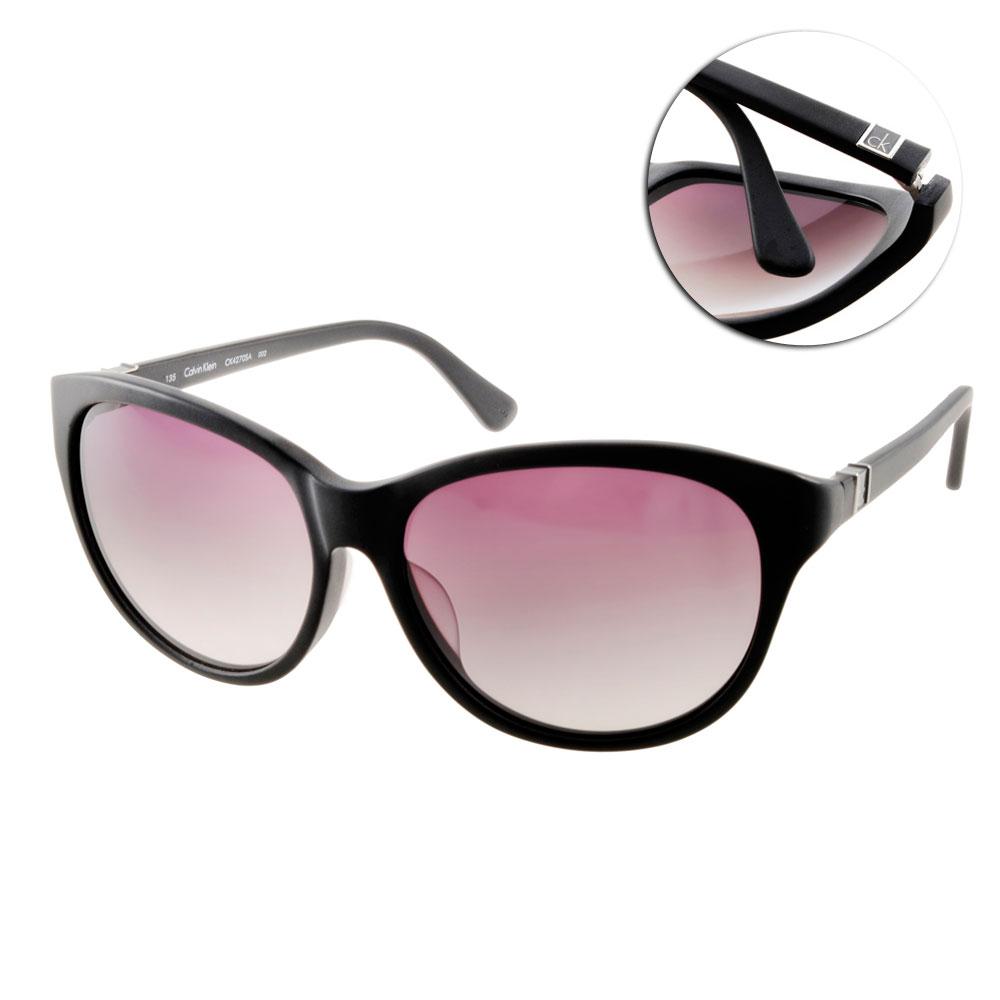 Calvin Klein太陽眼鏡 美式貓眼/黑#CK4270SA 002