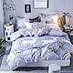 Ania Casa約定麋鹿 單人三件式 柔絲絨美肌磨毛 台灣製 單人床包被套三件組 product thumbnail 1