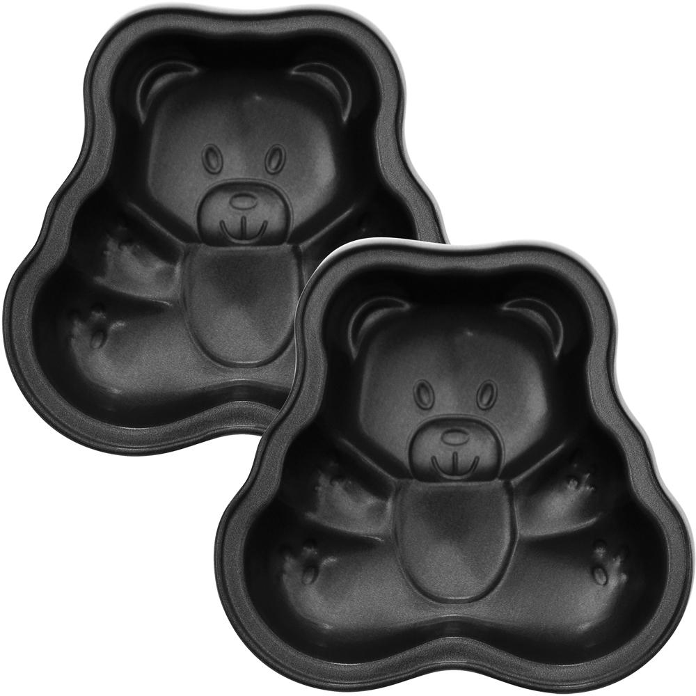 EXCELSA Minis不沾蛋糕模2入(小熊)