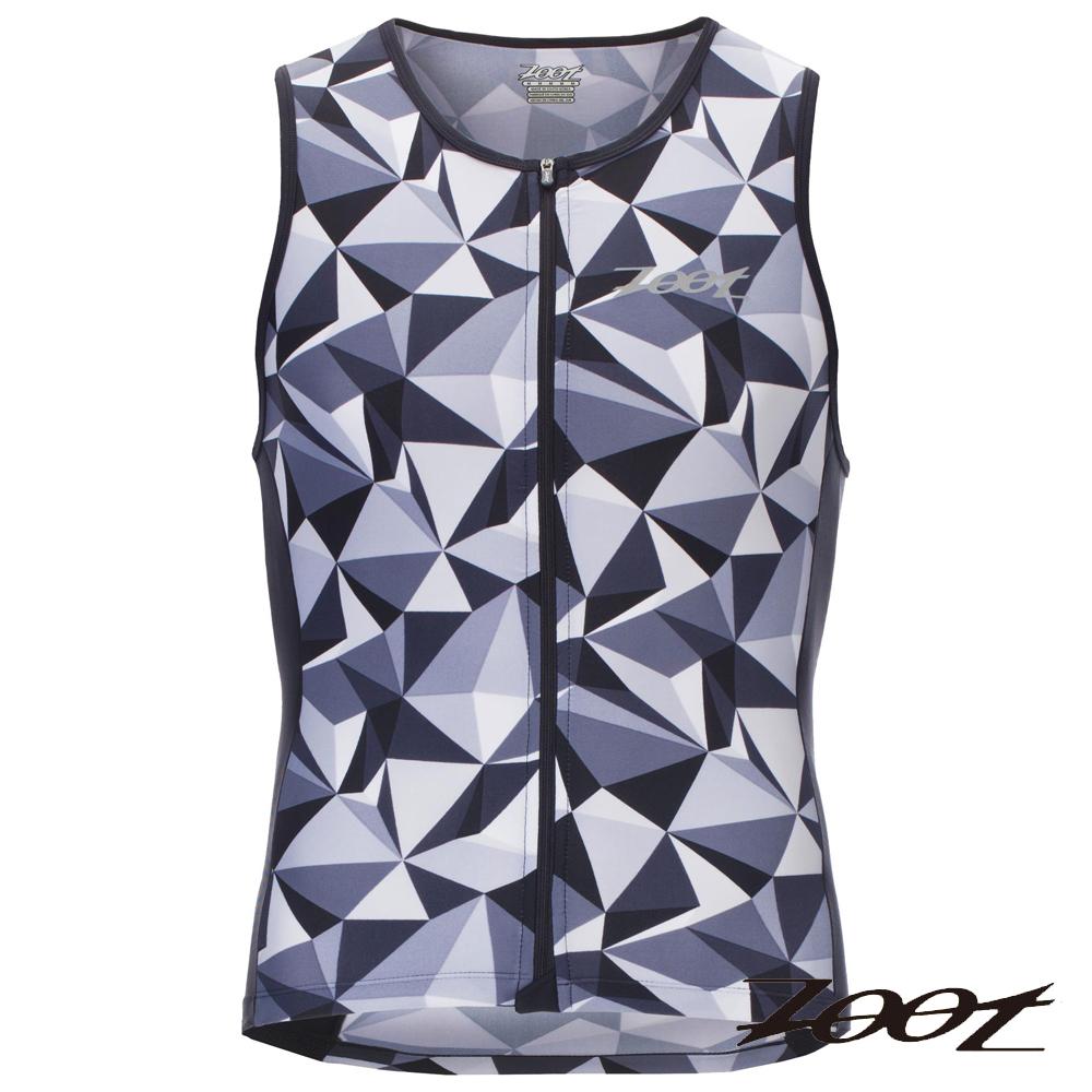ZOOT 專業級全拉式鐵人上衣(男) Z1606026(晶鑽灰)